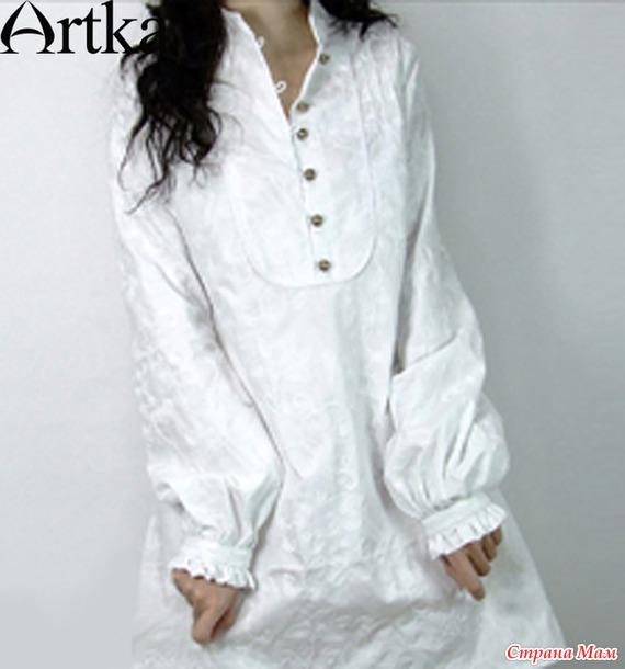 Женская Блузка Из Мужской Рубашки В Деревенском Стиле