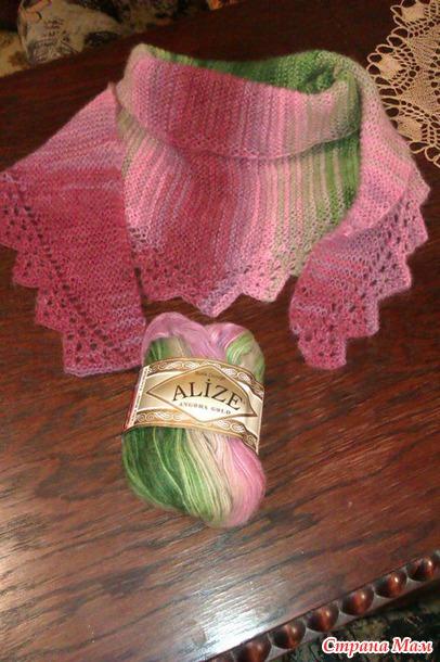 Вот моя версия шарфа-шальки