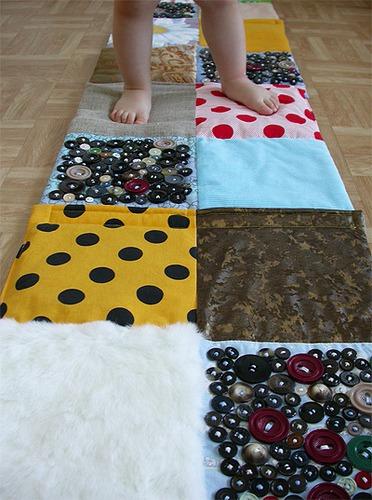 Детский коврик для ног своими руками фото