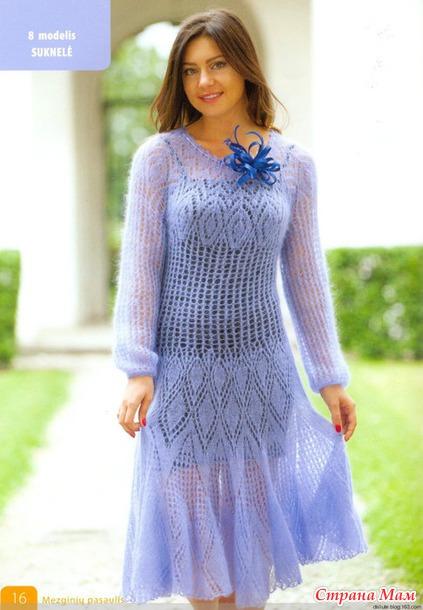 Такое платье всегда нарядно.