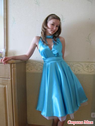Платье на выпускной 11 класс своими руками