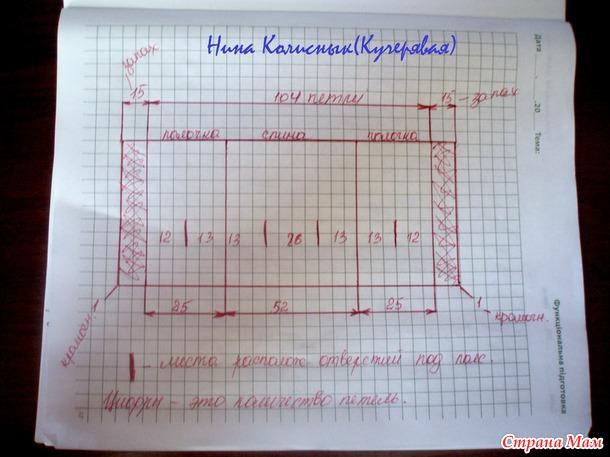 Кофточка Ксении Бородиной. Моя копия)