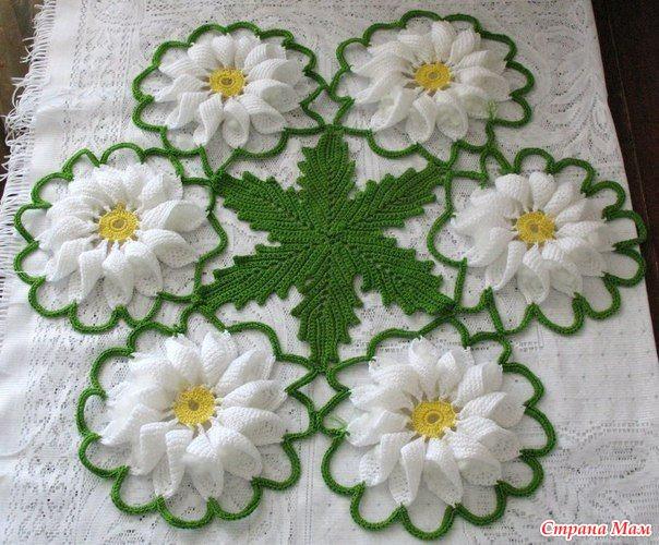 Часть 33 - Салфетка с розами