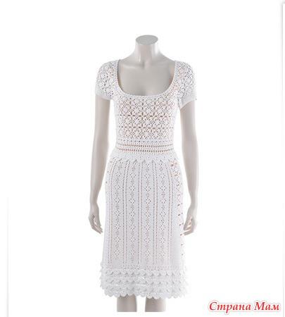 Платье с мотивами (безотрывно)