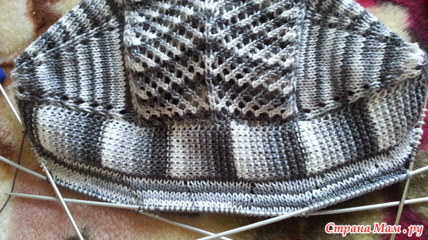 针织:男孩帽 - maomao - 我随心动