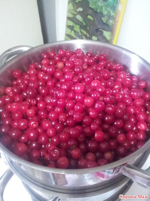 Как приготовить сок из вишни в домашних условиях 558