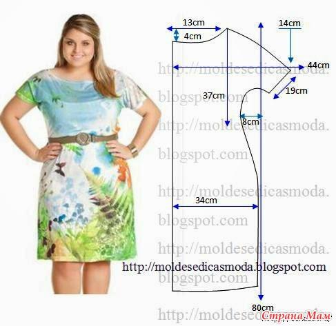 Пошив платья большие размеры