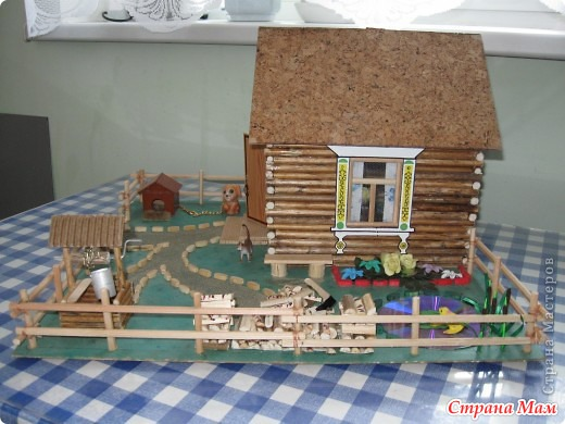 Макеты дома для детского сада