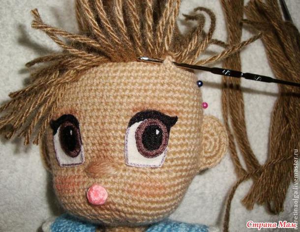 Вязанные куклы сделай сам - Вязание спицами: вязаные шапки, шарфы, шали, снуды