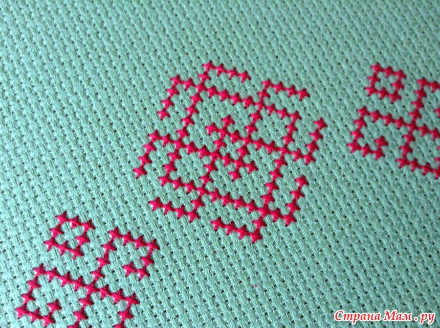 Вышивка белобог схема