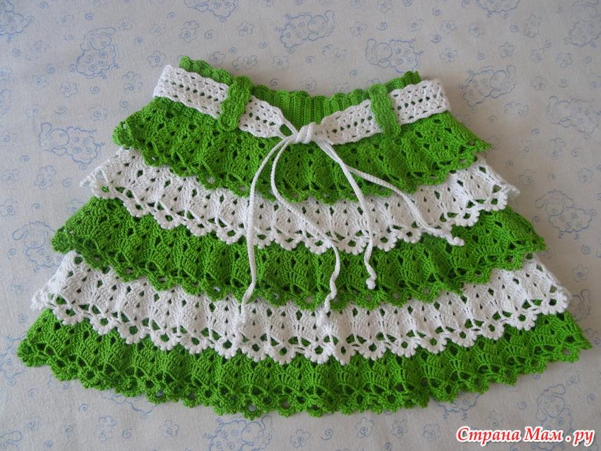 Вязание ольга веренич юбки