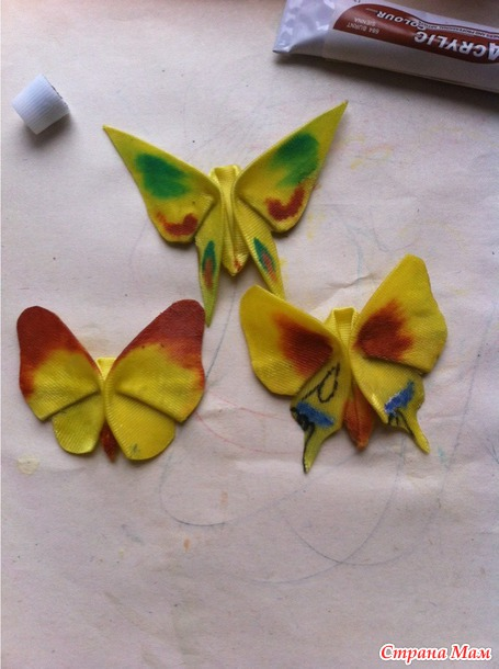 Атласные бабочки. МК.