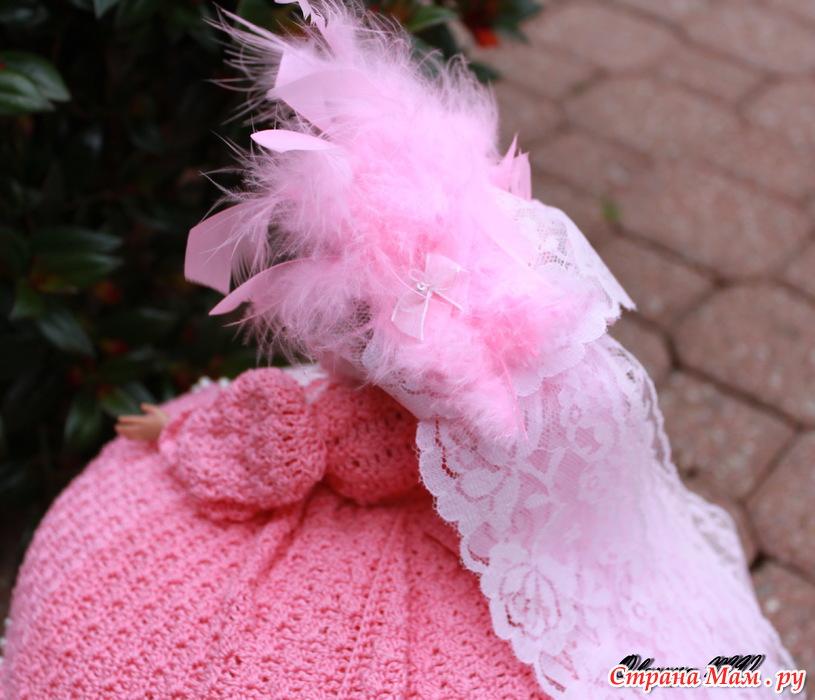 Вязание крючком кукол на чайник 179