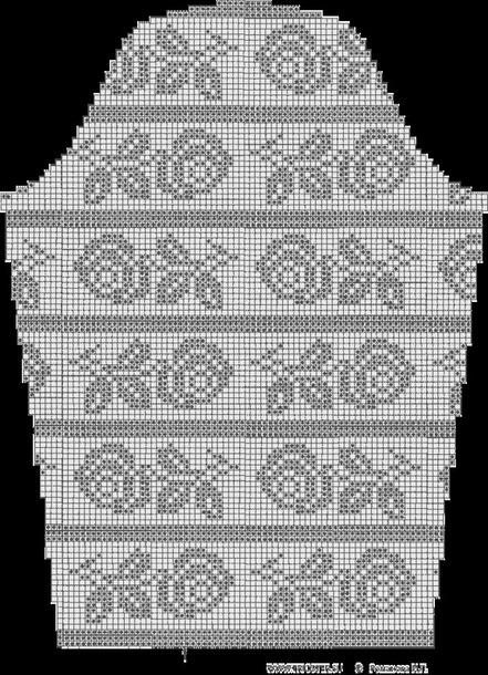 Блузка филейным вязанием и атласной отделкой