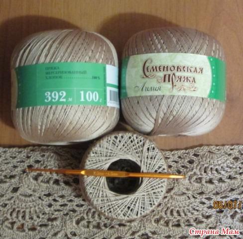 Пряжа для вязания платья крючком 13