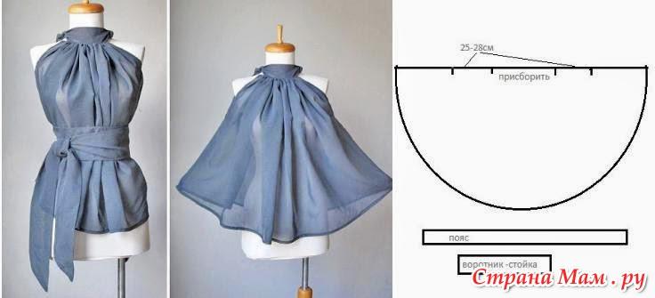 Сарафан джинсовый для девочки - шьем самостоятельно 95