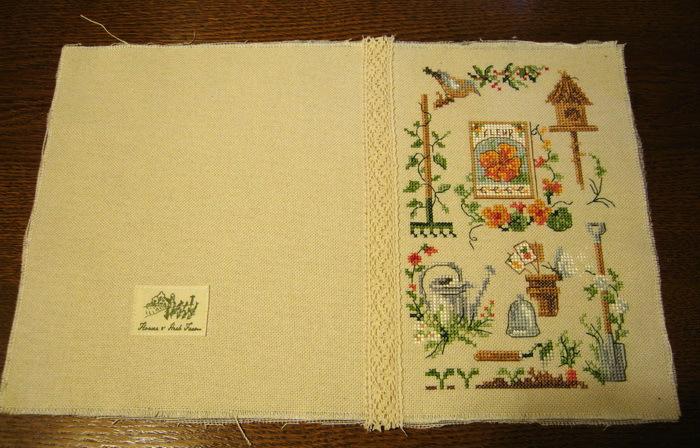 Вышивка крестом на обложку блокнота