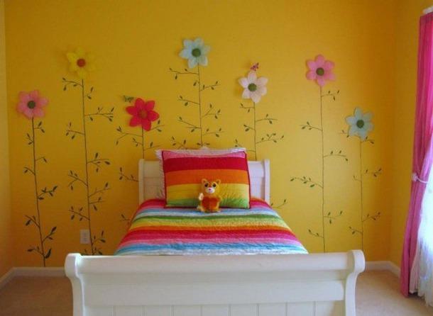 Детскую комнату как можно украсить своими руками