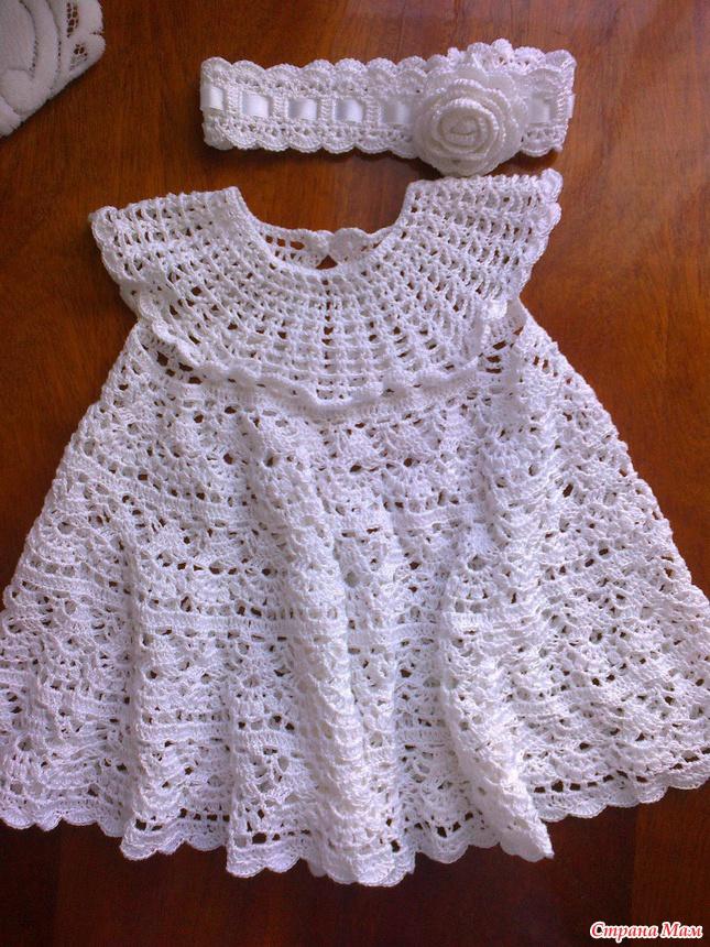 Крестильное Платье Крючок 96