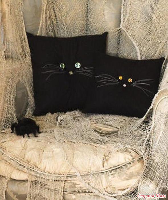 Подушки кошки своими руками идеи