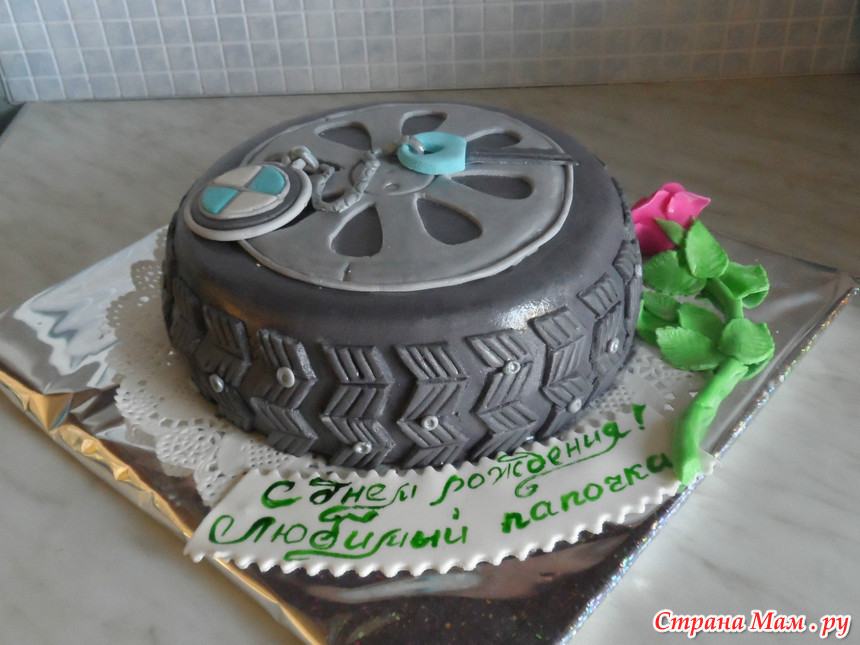 Торт для водителя фото