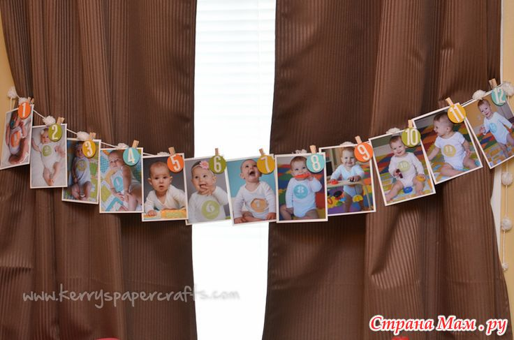 Декор на один годик мальчику