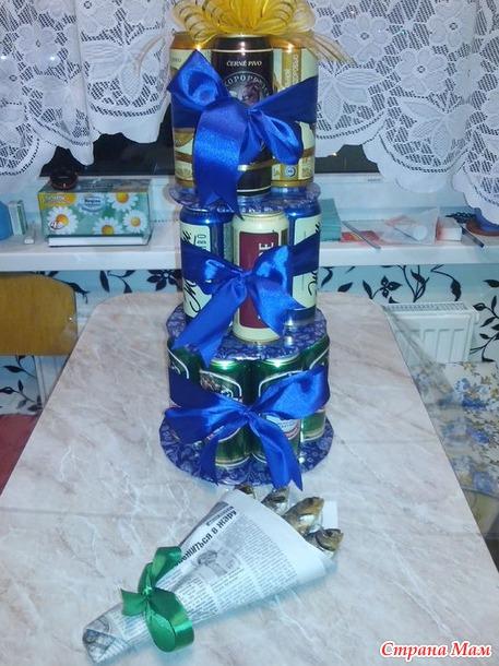 Как сделать подарок мужчине своими руками на день рождения