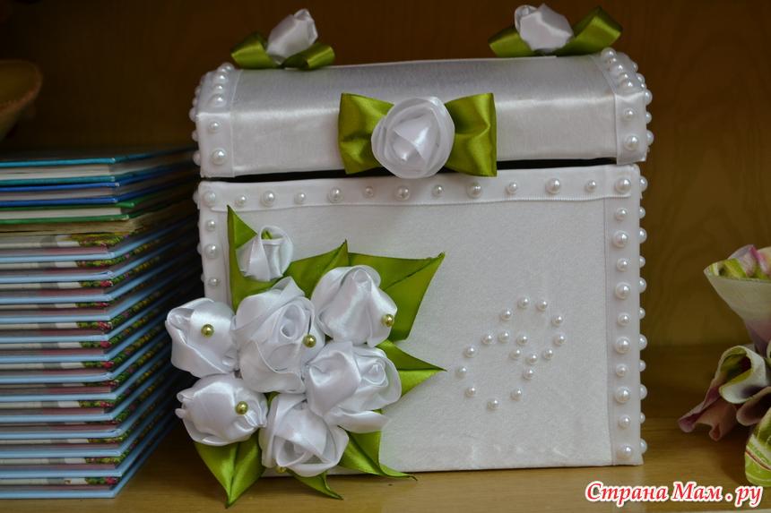 27Коробки для свадьбы своими руками из ткани