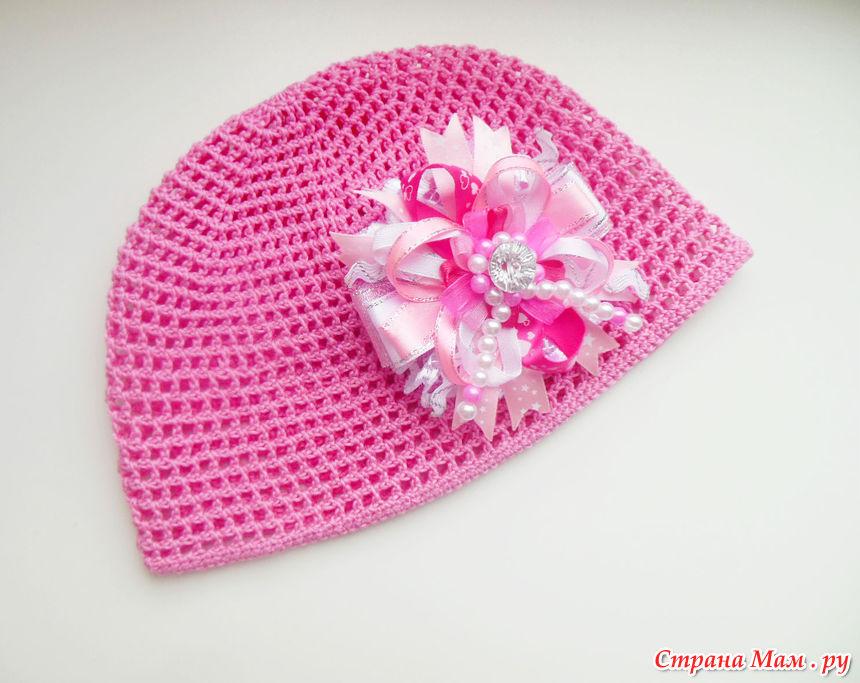Мои летние шапочки для девочек