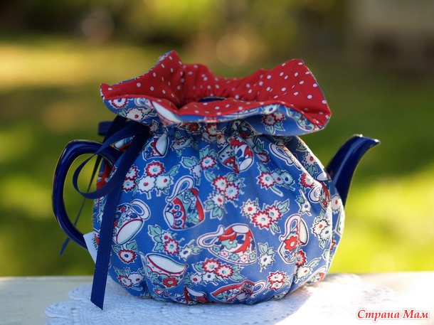 Хранительница чайного тепла для влюблённых в чай.