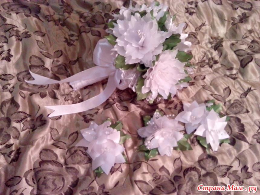 Свадебные аксессуары канзаши