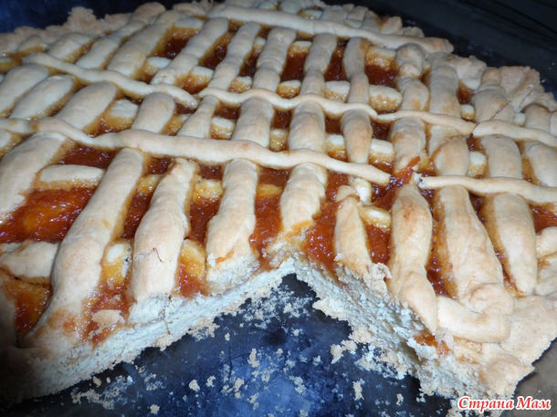 Пирог с джемом рецепт с фото простой