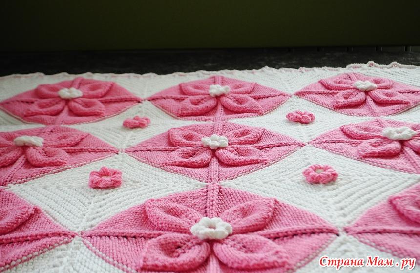 针织:婴幼儿软毯 - maomao - 我随心动