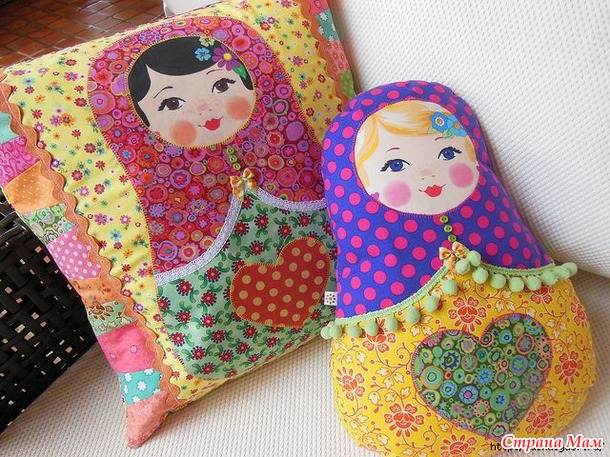 Детские подушки своими руками выкройки фото