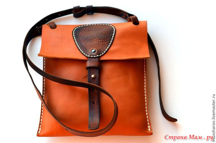 Ремни для сумки из кожи