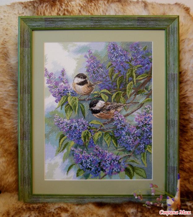 """Lilacs"""" (""""Синицы и сирень"""""""