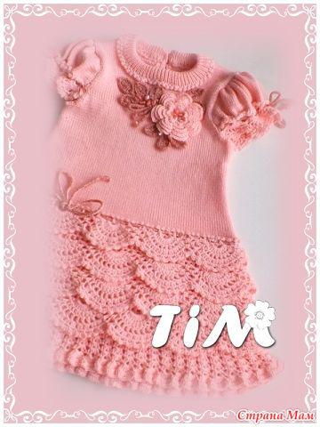 Вязание платья девочкам от тим