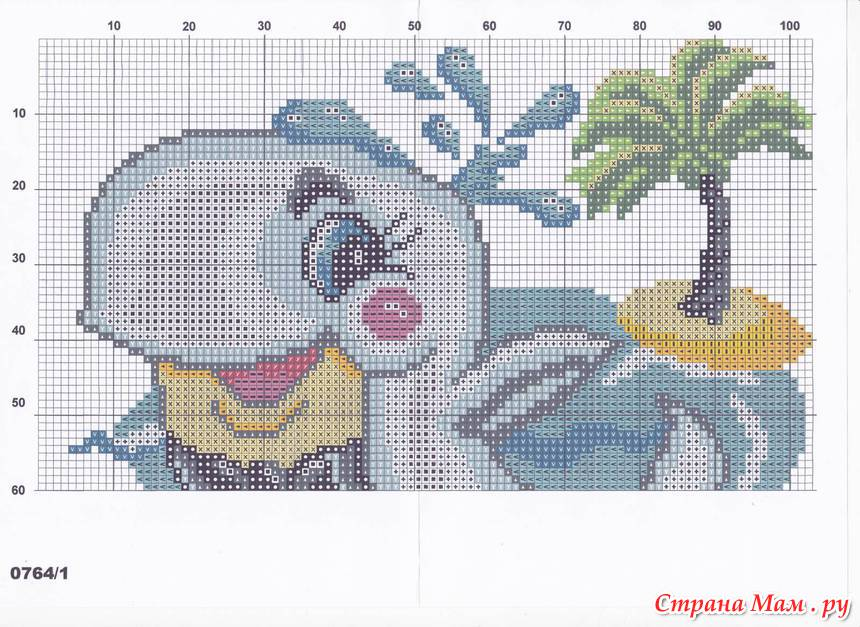 Вышивка крестом схемы вышивки подушка детские 308