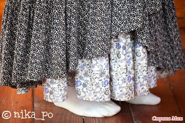 Как сшить юбку обертку