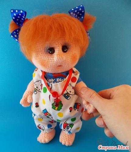 Мастер класс по вязанию игрушки куклы