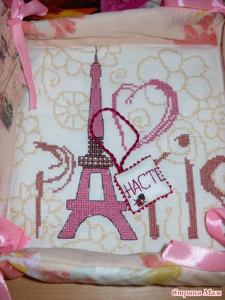 А у меня французская весна. Подарки к 8 марта