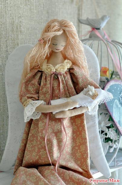 Как сшить ангела куклу 23