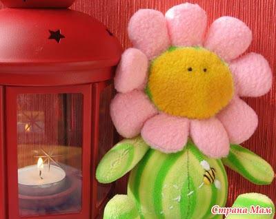 Кукла-цветочек Выкройка