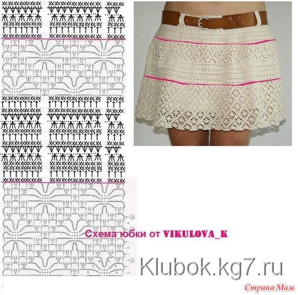 Схема юбки от викулова