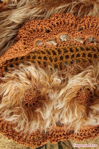 Новое в меховом вязании