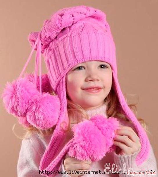 вязание для девочек 5 лет описание