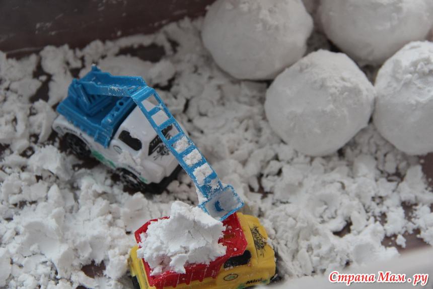 Как сделать свой снег 180