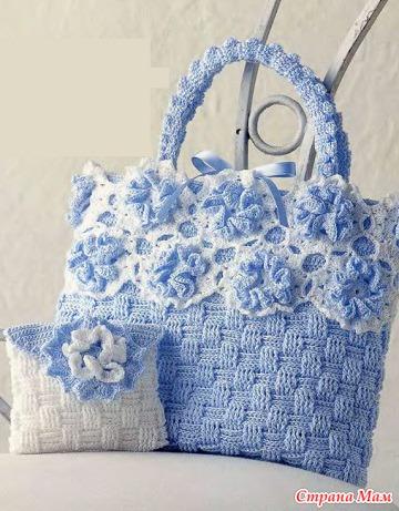 Летняя сумка в романтическом стиле