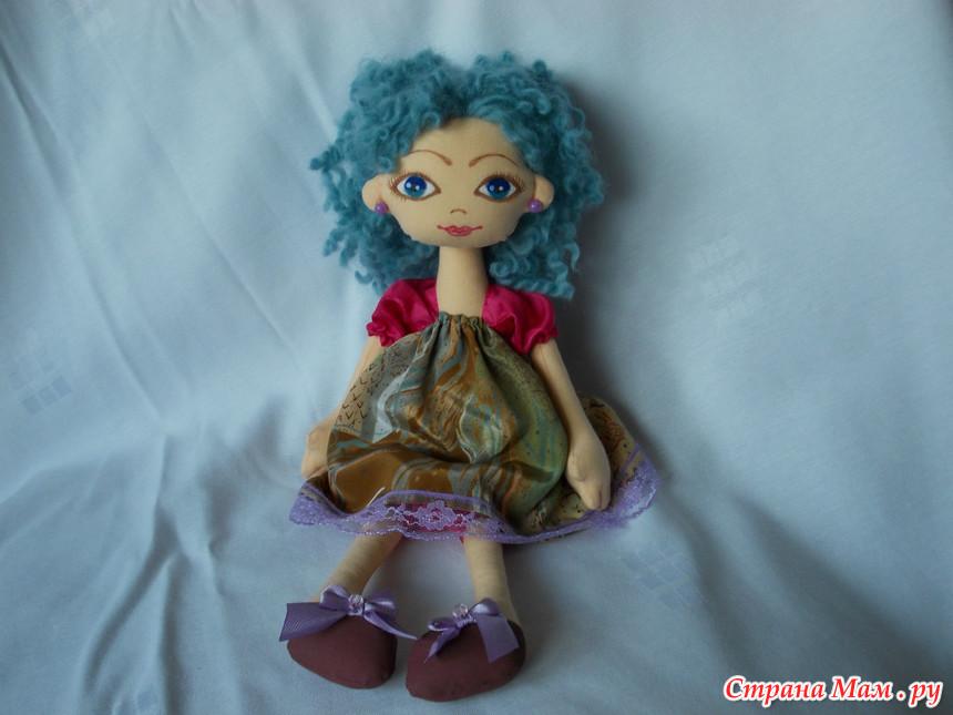 Кукла кудряшка своими руками