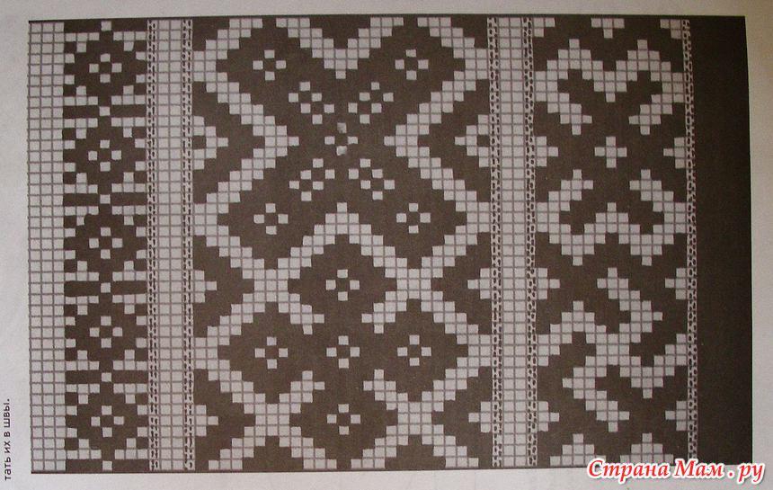 СХЕМЫ для плетения на бердо